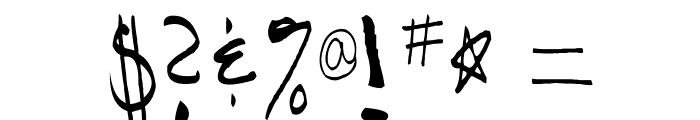 AEZAnastaciaHW Font OTHER CHARS