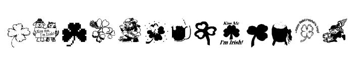 AEZSTPatricksDay Font LOWERCASE