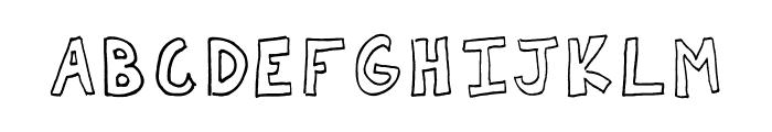 AEZbasic font Font UPPERCASE