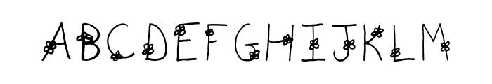 AEZdaisy Font UPPERCASE