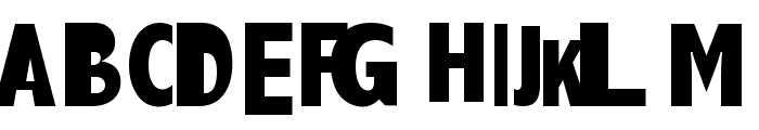 AEZlemonade Font UPPERCASE