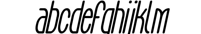 Aeg Flyon Now bold cursive Italic Font LOWERCASE