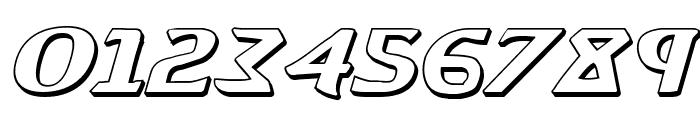 Aegis 3D Italic Font OTHER CHARS