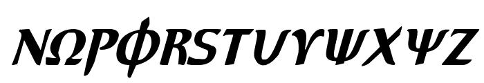 Aegis Condensed Italic Font LOWERCASE