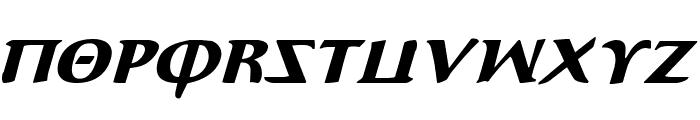 Aegis Italic Font UPPERCASE