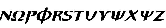 Aegis Italic Font LOWERCASE