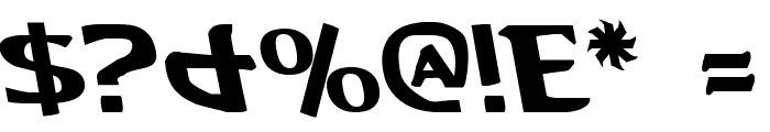 Aegis Leftalic Font OTHER CHARS