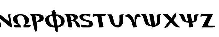 Aegis Leftalic Font LOWERCASE