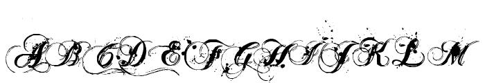 Aenima Font UPPERCASE