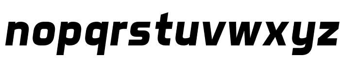 Aero Matics Bold Italic Font LOWERCASE