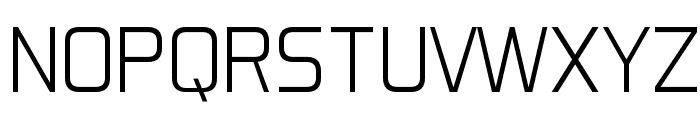 Aero Matics Display Light Regular Font UPPERCASE