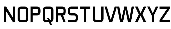 Aero Matics Display Regular Font UPPERCASE