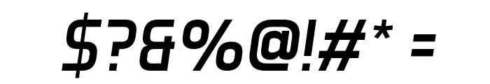 Aero Matics Italic Font OTHER CHARS