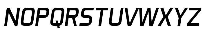 Aero Matics Italic Font UPPERCASE