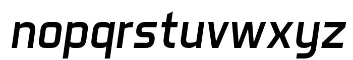 Aero Matics Italic Font LOWERCASE