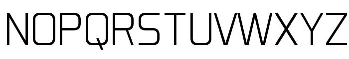 Aero Matics Light Regular Font UPPERCASE