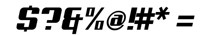 Aero Font OTHER CHARS