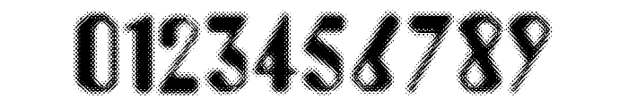 Aerobus Dotty Font OTHER CHARS