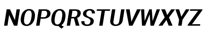 Aerodynamic Oblique Font UPPERCASE