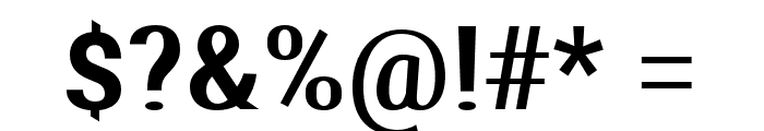 Aerodynamic Font OTHER CHARS