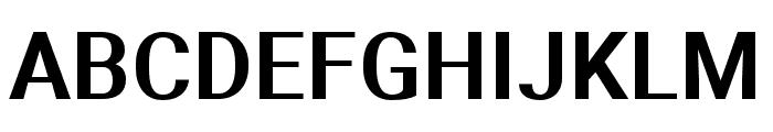 Aerodynamic Font UPPERCASE