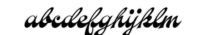 Aerofoil PERSONAL USE ONLY Font LOWERCASE