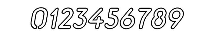 Aerolite Sky Italic Font OTHER CHARS