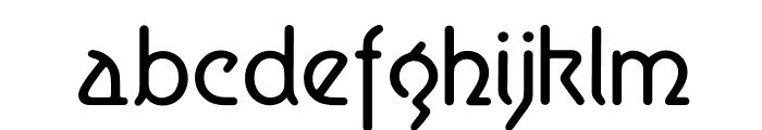 Aerolite Font LOWERCASE