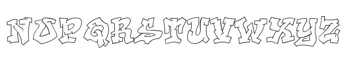 Aerosol Font UPPERCASE
