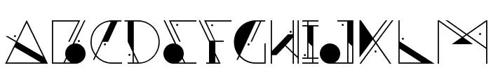 Aesthetika Font UPPERCASE