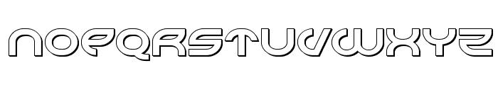 Aetherfox 3D Font UPPERCASE