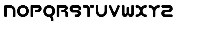 Aeos Single Font LOWERCASE
