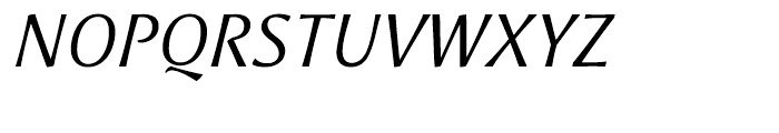 Aeris Title A Italic Font UPPERCASE