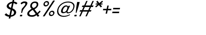 Aerohop Italic Font OTHER CHARS