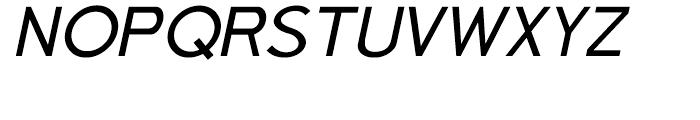 Aerohop Italic Font UPPERCASE
