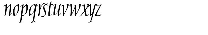 Aesop Regular Font LOWERCASE