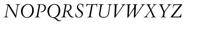 Aetna JY Italic Font UPPERCASE