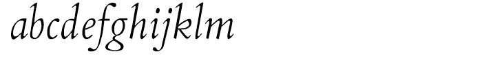 Aetna JY Italic Font LOWERCASE