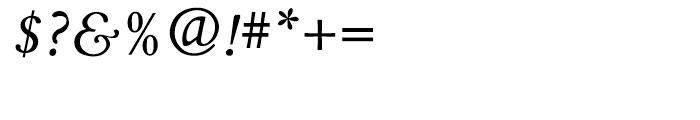Aetna JY Medium Italic Font OTHER CHARS