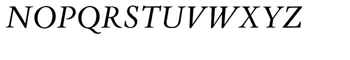 Aetna JY Medium Italic Font UPPERCASE