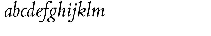 Aetna JY Medium Italic Font LOWERCASE
