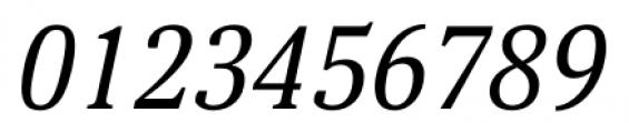 Aelita Book Italic Font OTHER CHARS
