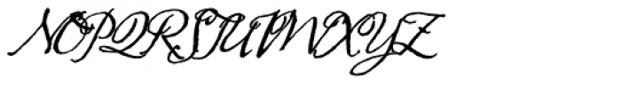 AE Prosperity Font UPPERCASE