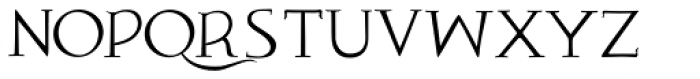 Aegean Plain Font UPPERCASE