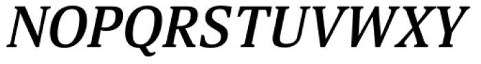 Aelita Medium Italic Font UPPERCASE