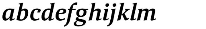Aelita Medium Italic Font LOWERCASE