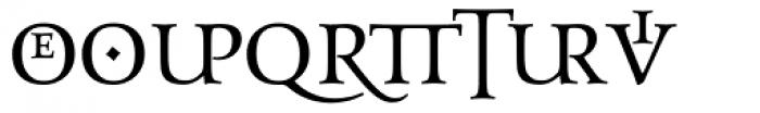 Aeneas Dark Alternate Font UPPERCASE