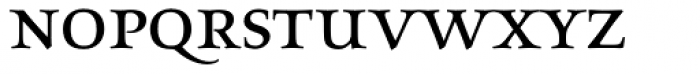 Aeneas Dark Alternate Font LOWERCASE