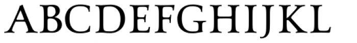 Aeneas Dark Font UPPERCASE