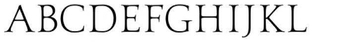 Aeneas Light Font UPPERCASE